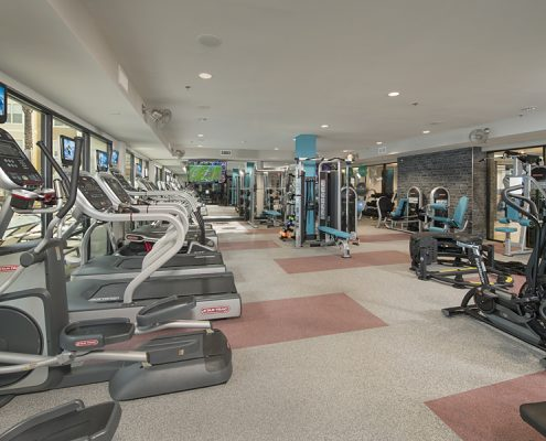 Kathy Andrews Interiors Student Housing Interior Design The Domain at Tallahassee Fitness