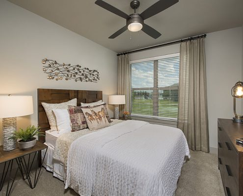 Kathy Andrews Interiors Multifamily Garden Style Interior Design SoCo at Tower Point 2B Bdrm 1