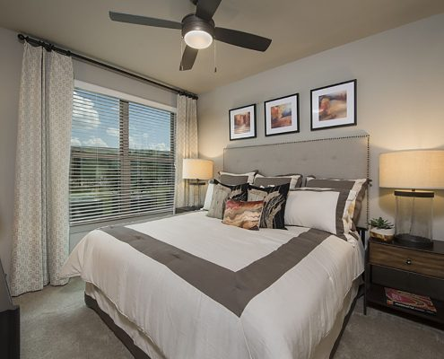 Kathy Andrews Interiors Multifamily Garden Style Interior Design SoCo at Tower Point 2B Bdrm 2