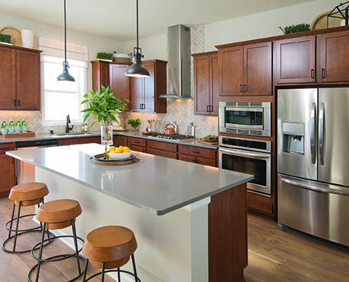 Kathy Andrews Interiors David Weekley Homes Donegal South 7737 Minneapolis St. Paul Minnesota Kitchen CROPPED