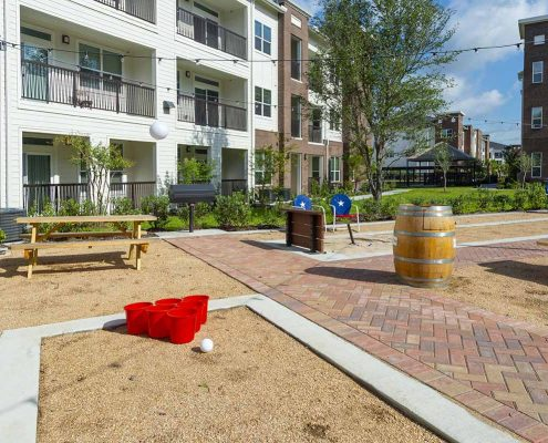 Kathy Andrews Interiors Domain New Forest Multifamily Leasing and Amenity Center Outdoor