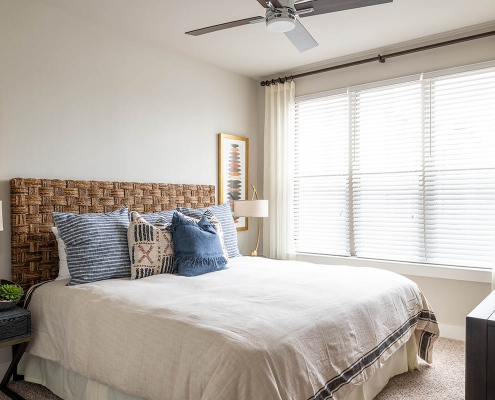 Kathy Andrews Interiors Multifamily Interior Design Broadstone Traditions Model Unit 2 Bedroom
