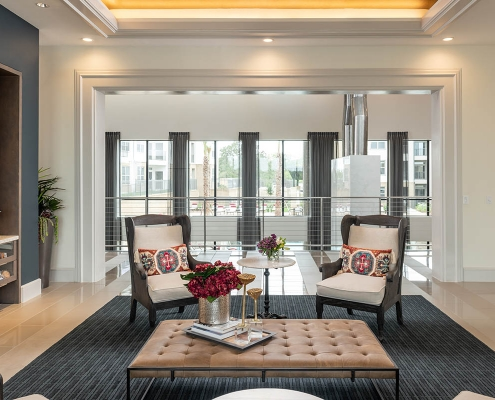 Kathy Andrews Interiors Multifamily Interior Design Leasing and Amenity Center Broadstone Traditions Leasing