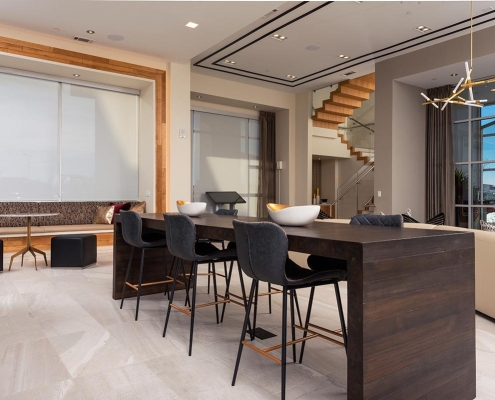 Kathy Andrews Interiors Multifamily Interior Design Leasing and Amenity Center Encore at Boulevard One Lobby