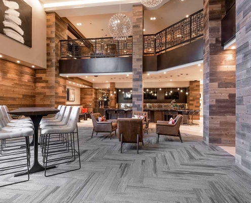 Kathy Andrews Interiors Multifamily Interior Design Leasing and Amenity Centers Luxe at Mile High Club Room 2