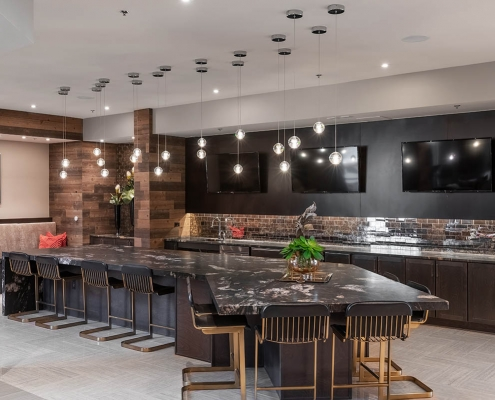 Kathy Andrews Interiors Multifamily Interior Design Leasing and Amenity Centers Luxe at Mile High Club Room 3