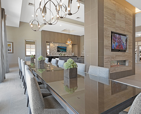 Kathy Andrews Interiors Multifamily Interior Design Leasing and Amenity Centers Woodmont Townsquare Club Room 2 Cropped
