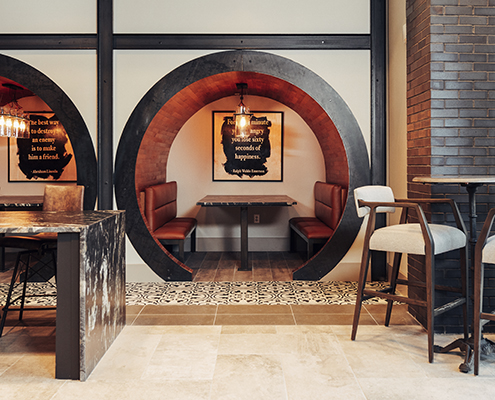 Kathy Andrews Interiors Multifamily Interior Design Leasing and Amenity Centers The Guthrie Club Room 3 Cropped