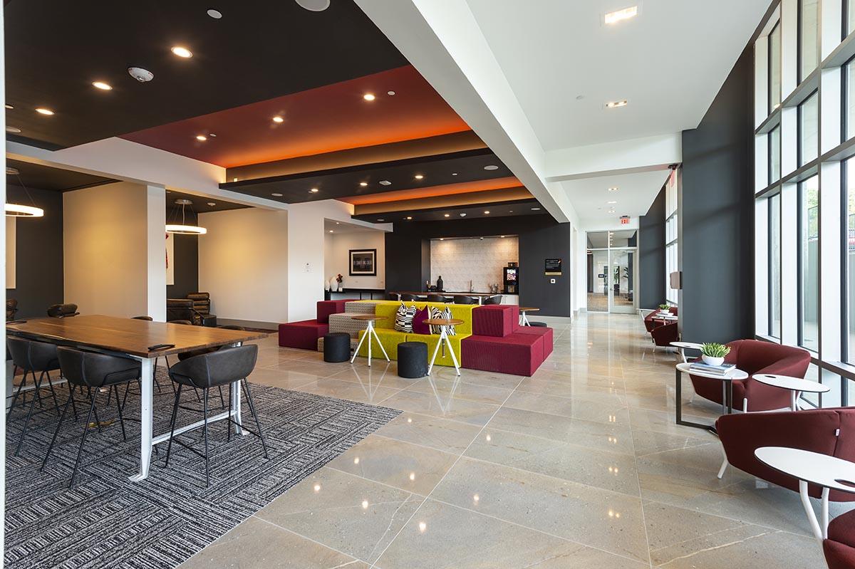 Kathy Andrews Interiors Student Housing Interior Design Aspire San Marcos Cyber Lounge 3